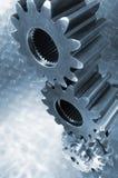 industriella hjul för kugghjul Fotografering för Bildbyråer