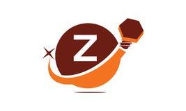 Industriella lösningar initialt Z Arkivfoto