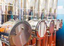 industriella lampglas Arkivfoto
