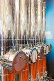 industriella lampglas Royaltyfri Foto