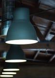 Industriella lampor Royaltyfria Bilder
