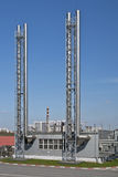 industriella metallrør Royaltyfria Foton