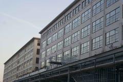 Industriella Philips Area Strijp S Arkivfoto