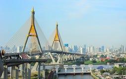 Industriella Ring Road Bridge Arkivbilder