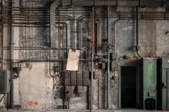 Industriella säkringsaskar arkivbilder