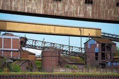 Industriella spår royaltyfri bild