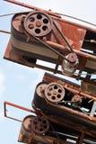 industriella transportörer arkivfoton