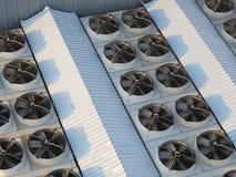 Industriella ventilatorer Fotografering för Bildbyråer