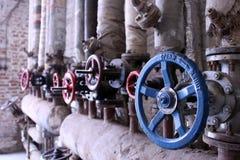 industriella ventiler Arkivfoton