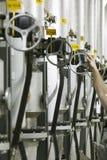 industriella ventiler Royaltyfria Foton