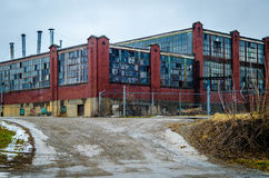 Industrielle Abnahme Stockfoto
