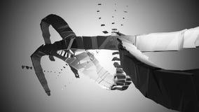 industrielle Abstraktion 3D Lizenzfreies Stockbild