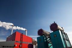 EnergienKraftwerk Lizenzfreies Stockfoto