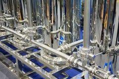 Wasserbehandlungs-Ausrüstung Stockfotos