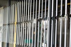 Industrielle automatische malende Technologie Pulverbeschichtungen lizenzfreie stockbilder