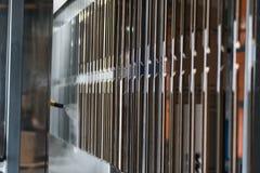 Industrielle automatische malende Technologie Pulverbeschichtungen lizenzfreies stockfoto