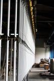 Industrielle automatische malende Technologie Pulverbeschichtungen stockfotografie