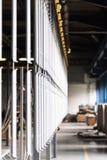 Industrielle automatische malende Technologie Pulverbeschichtungen lizenzfreies stockbild