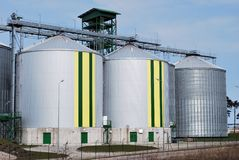 Industrielle Becken Lizenzfreie Stockbilder