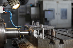 Industrielle Drehbank lizenzfreies stockbild