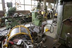 Industrielle Fabrik stockfotos