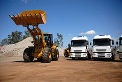 Industrielle Fahrzeuge Stockfotos