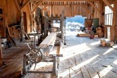 Industrielle Holzerzeugungsfabrik - allgemeine Ansicht Lizenzfreies Stockfoto