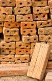 Industrielle Industrieproduktion von Ziegelsteinen Lizenzfreies Stockbild