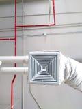 Industrielle Klimaanlage Stockbild