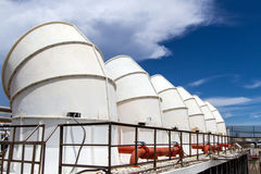 Industrielle Klimaanlage Lizenzfreies Stockfoto