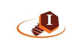 Industrielle Lösungs-Initiale I Stockfotografie