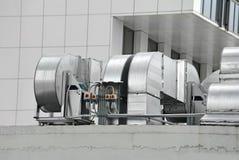 Industrielle Lüftungsanlage Stockbild