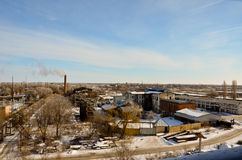 Industrielle Landschaft 1 Lizenzfreie Stockfotos