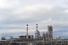 Industrielle Landschaft stockfotografie