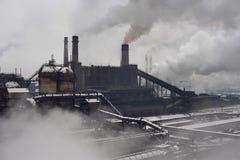 Industrielle Landschaft Stockbild
