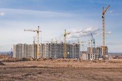 Industrielle Landschaft Lizenzfreie Stockfotos