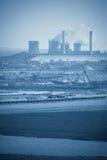 Industrielle Landschaft Lizenzfreie Stockfotografie