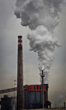 Industrielle Landschaft Stockbilder