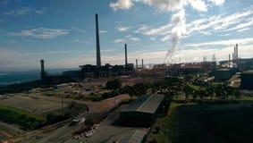 Industrielle Landschaft Lizenzfreies Stockfoto