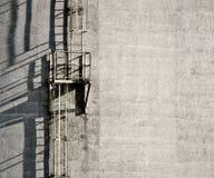 Industrielle Leitern Stockbild