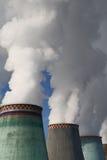Industrielle Luftverschmutzung Lizenzfreies Stockfoto