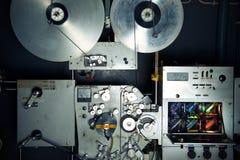 Industrielle Maschine des Filmdruckers für 35 Millimeter-Film mit rgb-Lampen a Stockfoto