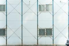 Industrielle mobile Raumwand Stockfotografie