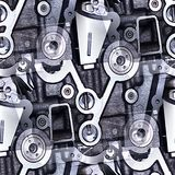 Industrielle Musterzusammenfassung Stockfotos