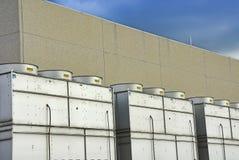 Industrielle Plätze Lizenzfreies Stockfoto