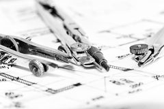 Industrielle Plannahaufnahme Lizenzfreies Stockbild