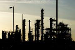 Industrielle Raffinerie stockbilder