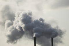 Industrielle Rauch-Stapel Lizenzfreies Stockbild