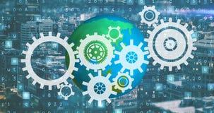 Industrielle Revolution und die moderne Welt 4k lizenzfreie abbildung