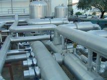 Industrielle Rohre Stockbilder
